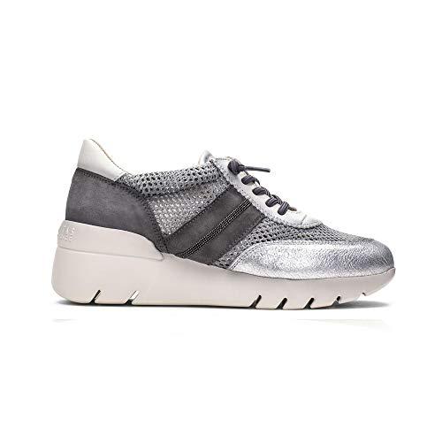 Hispanitas Chunky Trainer Shoe - 98641 38 Grey
