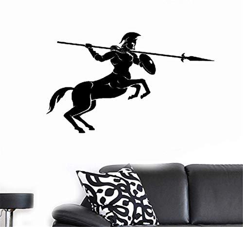 Wandtattoo Kinderzimmer Wandtattoo Schlafzimmer Zentaur Speer Mythical Creature Fantasy Boy Zimmer Wandgemälde