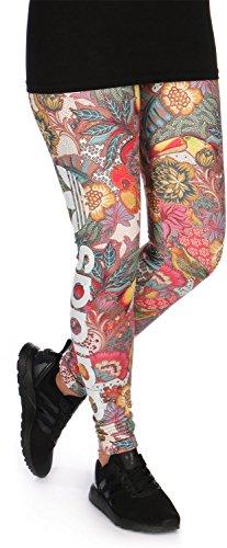 Adidas F Lin Leggings pantaloni, Donna, Donna, F LIN Leggings, 40