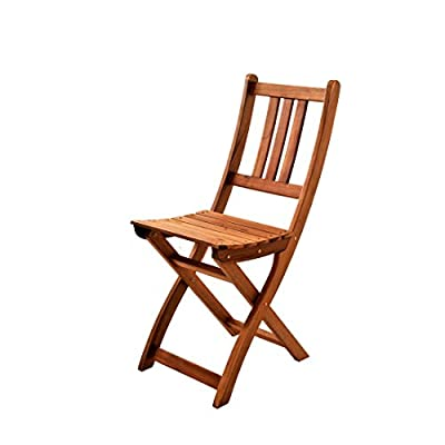 XXS® Gartenstuhl | FSC®100% zertifiziert | Sitzmöglichkeit aus Akazien-Holz | massiver Klappstuhl [521578] von XXS® auf Gartenmöbel von Du und Dein Garten