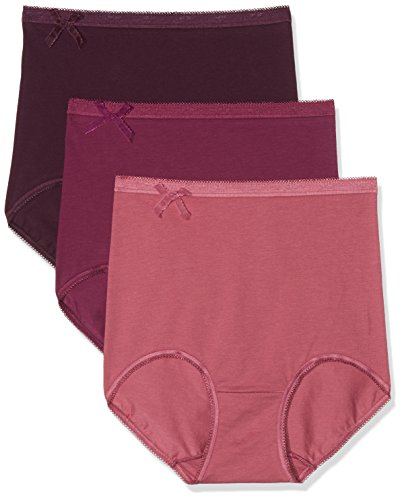 Sloggi Damen Panties Basic + Gift Box Maxi C3P, Mehrfarbig (Red-Light Combination M005), Gr. 48