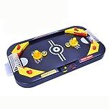Mini Tisch Billard Spiel Spielzeug, mamum Miniatur-Hockey Tisch Spiel Spielzeug für Kinder 2in 1Fußball & Ice Desktop-Bereich