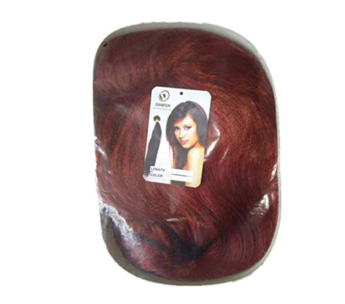 DINIFER® Kupfer Rot Langes Haar Frau Cartoon Masquerade -