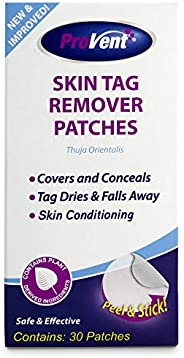 Provent Skin Tag Remover Patches, 30 Count