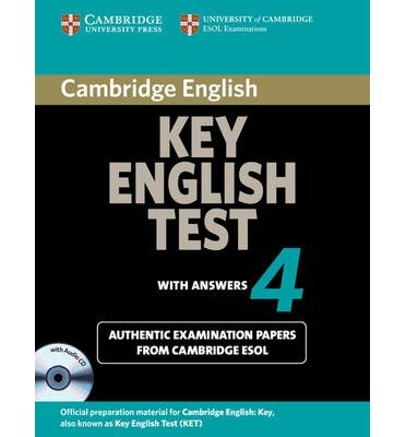 [Cambridge Key English Test 4 Self Study Pack: Level 4] [by: Cambridge ESOL]