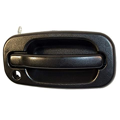 99-07 Chevy/GMC Silverado 1500 2500 3500 Sierra 1500 2500 3500 Pickup Truck Avalanche 1500 2500 Chevrolet Suburban 1500 2500 Tahoe Yukon Outside Outer Exterior Door Handle Right Passenger Side (1999 99 2000 00 2001 01 2002 02 2003 03 2004 04 2005 05 2006 06 2007 07) by Aftermarket Auto Parts
