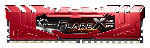 Gskill F4-2400C15Q-32GFXR Arbeitsspeicher FlareX DDR4 32GB (4x 8GB) rot