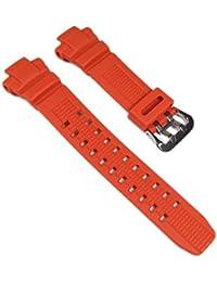 Casio Casio-16232-830 - Correa de resina , color naranja