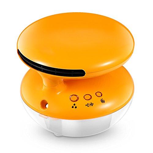 QFFL Bureau de chauffage Bureau ajouter humidificateur humidificateur Petits comptoirs chauffage électrique 2 couleurs disponibles Refroidissement et chauffage (Couleur : A)
