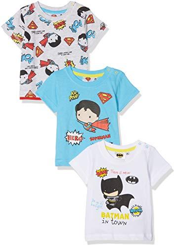 FABTASTICS Italien T-Shirt, Mehrfarbig, (Herstellergröße: 6M / 68), 3er-Pack