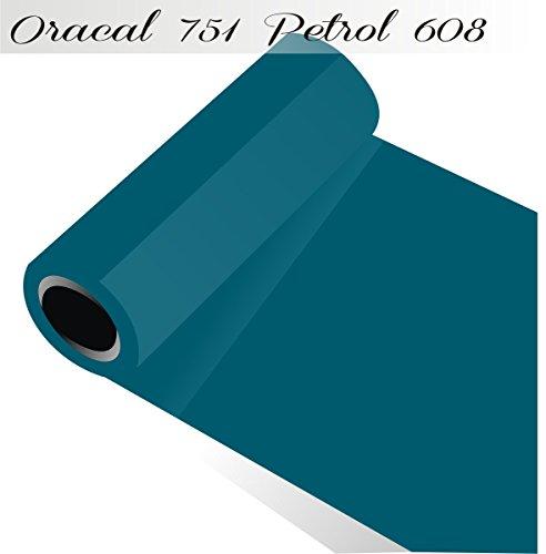 Sichtschutz oracal751–1-5mx315–00Displayschutzfolie für Küchenschränke/Dekoration Label 31,5cm x 5m glänzend, blau, ORACAL751-1-5mx315-608