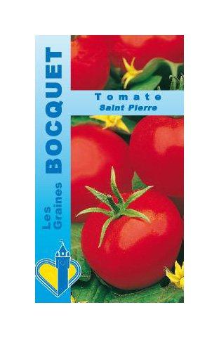 Les Graines Bocquet - Graines De Tomate Saint Pierre - Graines Potagères À Semer - Sachet De 1Grammes