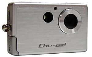 Che-ez! Splash Ultra-compact Digital Camera With Flash [0.3MP] - Silver