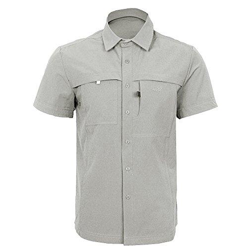 ikrr-chemises-sechage-rapide-a-manches-courtes-pour-homme-l-kaki