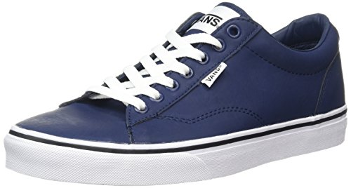 Vans Dawson, Scarpe da Ginnastica Basse Uomo, Blu (Leather Dress Blues/White), 42.5 EU