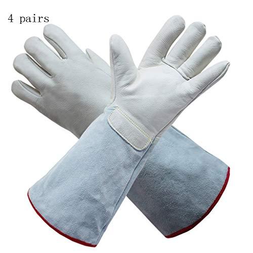 ZXC Home Haushaltshandschuhe Outdoor Frostschutzmittel Niedrigtemperatur-Flüssigstickstoff-Schutzleder Hochwertige Lederhandschuhe (Color : C)