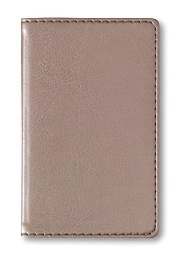 Adressbuch Mini Glamour Pearl - Notizbuch / Taschenplaner (6,5 x 10,5) - 112 Seiten