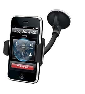 Kensington K39256EU Support pare-brise pour Smartphone (compatible iPhone 4 à 6) - Noir