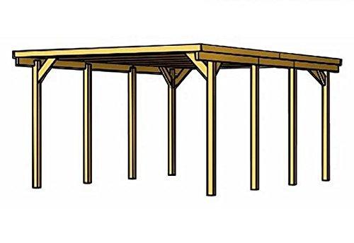 Skan Holz Carport Lausitz 312 x 550 cm kdi