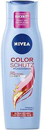 Nivea Color Schutz Pflegeshampoo für gefärbtes oder gesträhntes Haar, 6er Pack (6 x 250 ml)