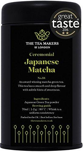 Ceremonial Grade Japanese Matcha Green Tea Powder100g Caddy