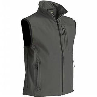 Blåkläder Workwear Softshellweste 8170 mit Stretchfunktion, M, army/green, 1 Stück, 67-81702515-4600-M