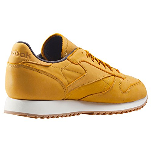 Reebok Cl Leather Ripple Wp, Chaussures de Fitness Homme, Sable, 40 EU multicolore - doré/gris (Golden Wheat / Urban Grey / Chalk)