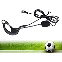 Vnetphone arbitre Micro casque tour d'oreille pour match de football de football travaillant avec Vnetphone Moto Intercom V4 V6 3.5 mm