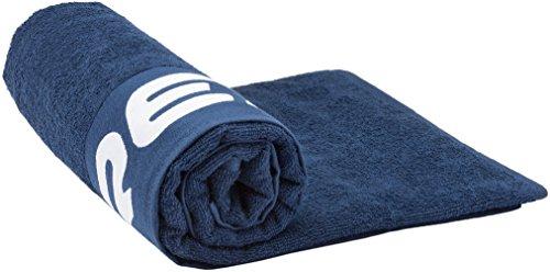 Cressi beach towel, telo mare asciugamano sport di alta qualità unisex – adulto, blu, 180 x 80 cm