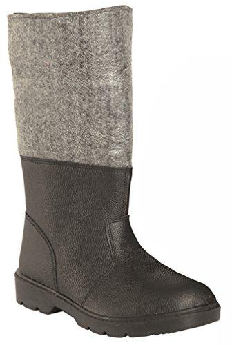 Käteschutzstiefel Leder/Filz Gr.285 (Kinder Military Stiefel)