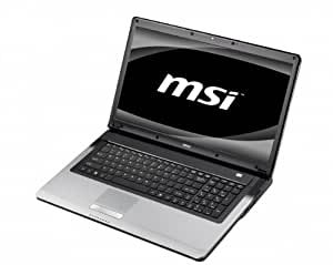 "MSI CR720-259 Ordinateur Portable 17,3"" Intel i3-370M 500 Go RAM 4096 Mo  Windows 7 Home Premium Noir -"
