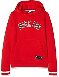 Nike B NK Air SSNL FLC Top Long Sleeved t-Shirt, Niños, University