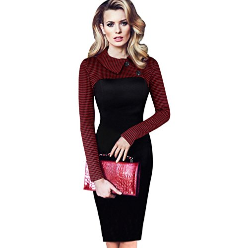 ddclothes-thousands-of-birds-temperament-dress-new-slim-was-thin-lapel-long-sleeve-pencil-skirt-maxm