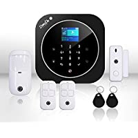 Sistema di Allarme casa Kit wireless senza fili, WIFI, GSM, Kit Dadvu DV-2AT, Combinatore Telefonico, 100 zone, App…