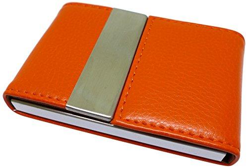 visitenkartenetui-kartenhalter-orange-aus-kunstleder-und-edelstahl-praktischer-verschluss-elegant-fr