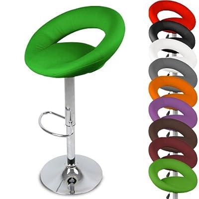 Miadomodo® LBHK02 Single Bar Stool Approx. 55 x 102 x 40 cm - low-cost UK bar stool store.