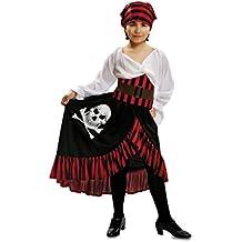 My Other Me - Disfraz de Pirata bandana para niñas, talla 10-12 años (Viving Costumes MOM00586)