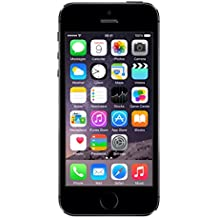 "Apple iPhone 5S - Smartphone libre iOS (pantalla 4"", cámara 8 Mp, 32 GB, Dual-Core 1.3 GHz, 1 GB RAM), plateado"
