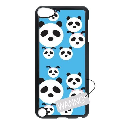Panda Ipod Touch5 Cover Case, Panda Custom Case for Ipod Touch5 at WANNG