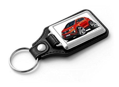 wickedartz-cartoon-car-kia-sportage-mk3-metallic-orange-classic-style-key-ring