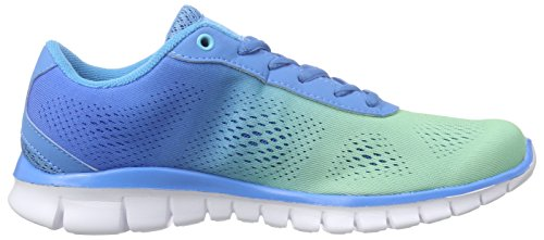 Kappa - Sunrise Light Footwear Unisex, Mesh/Synthetic, Scarpe da ginnastica Donna Blu (Blau (6560 ice/blue))