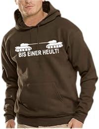 Touchlines Herren Bis einer heult ! Kapuzen Sweatshirt B7007
