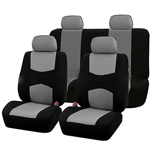 XuBa 9 Pezzi coprisedili per Auto Set per 5 posti Auto Universale Applicazione 4 Stagioni Disponib