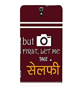 printtech Selfie Back Case Cover for Sony Xperia C5 Ultra Dual::Sony Xperia C5 E5553 E5506::Sony Xperia C5 Ultra