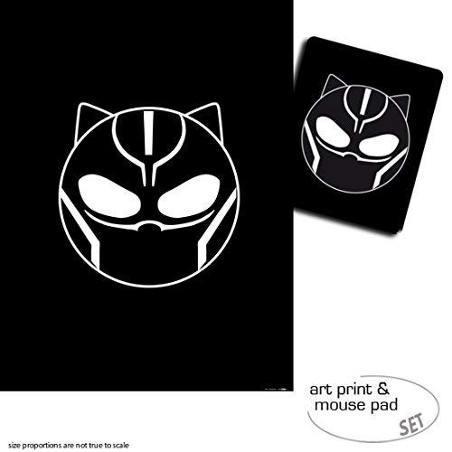 1art1 Black Panther, Emoticon 1 Póster Impresión