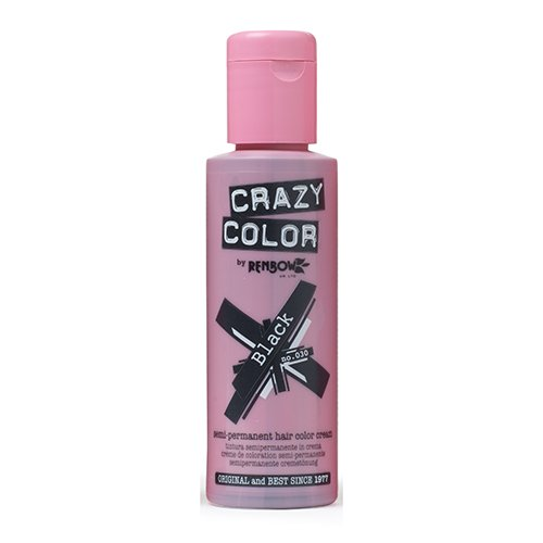 Renbow Crazy Color Coloration Semi-permenant Noir 100 ml