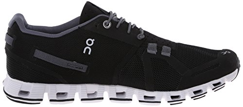 On Running Cloud W Black White Nero (Black / White)