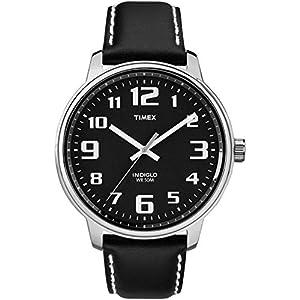 Timex – Reloj de Cuarzo para Hombres, Correa de Piel