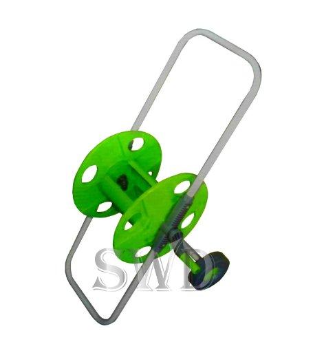 Tragbare Universelle Garten Schlauch Spule Trolley Winder Warenkorb Anti Rost Frost New (Winder Spule Tragbare)