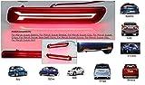CARMART Car reflector Led Brake Light for Rear Bumper DRL with wiring for Maruti Vitara Breeza/Baleno/New Dzire/S Cross/Ciaz/Ritz/Ertiga/SX4